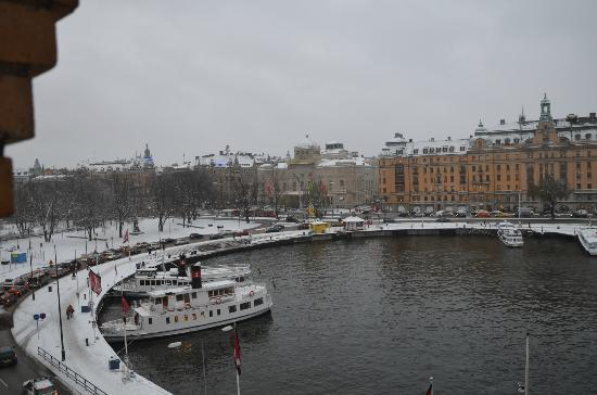 Radisson Blu Strand Hotel, Stockholm: The view from room 406