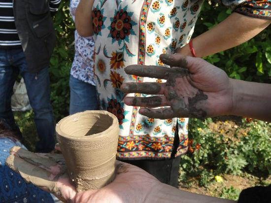 ‪‪Botanix Nature Resort‬: Pottery making at Botanix