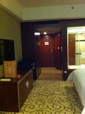 Fuyue Hotel: Blick Richtung Flur
