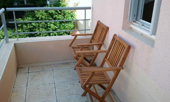 Hotel Les Grenadines: Balcony
