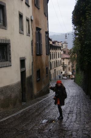 B&B Entro Le Mura: En la calle del hotel, S. Lorenzo