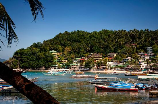 Out of the Blue Resort: Nearby Town Of Puerto Galera