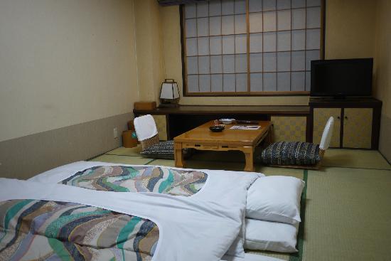 Hotel Daiheigen: our room