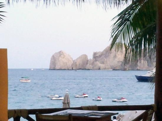 Cabo Villas Beach Resort: View from Baja Cantina (a Cabo Villas restaurant)