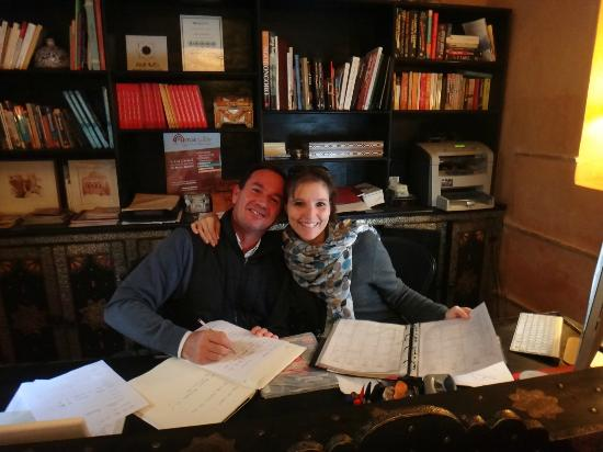 Riad le Clos des Arts : Massimo & Girgina