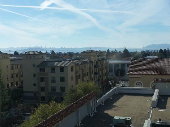 Hotel Shattuck Plaza: Afternoon View of San Francisco from Shattuck 518
