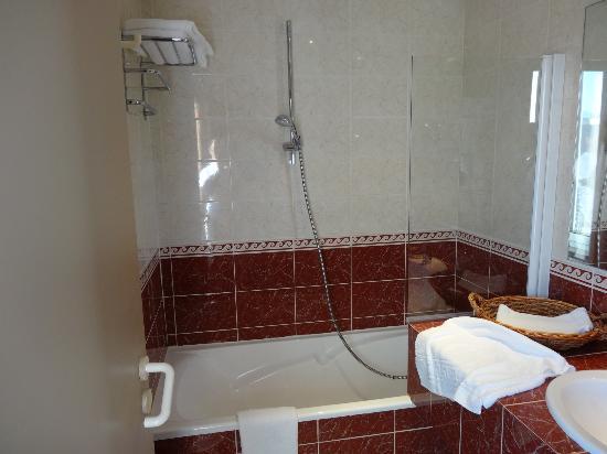 Best Western Hotel Terminus: バスルーム