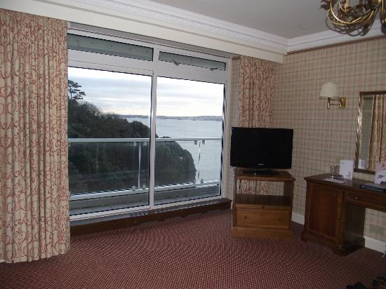 The Imperial Torquay: View from room