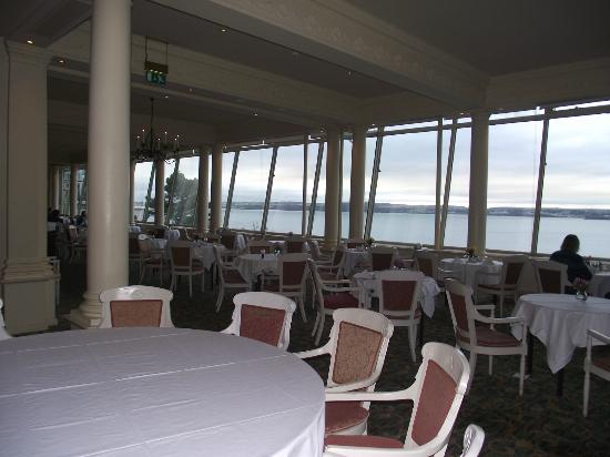 The Imperial Hotel: View from dining room