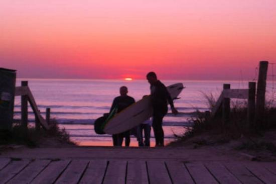 Casal de Folgueiras: Lanzada beach