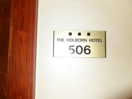 Grange Holborn Hotel: Rm 506 (!)