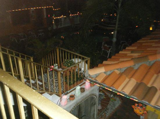 Blue Seas Courtyard: view from balcony