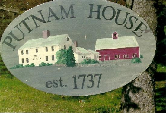 Putnam House B&B: With Real and Amazing History