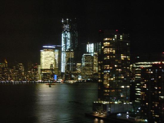The Westin Jersey City Newport: NYC at night