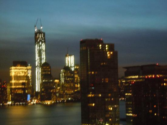 The Westin Jersey City Newport: NYC early morning