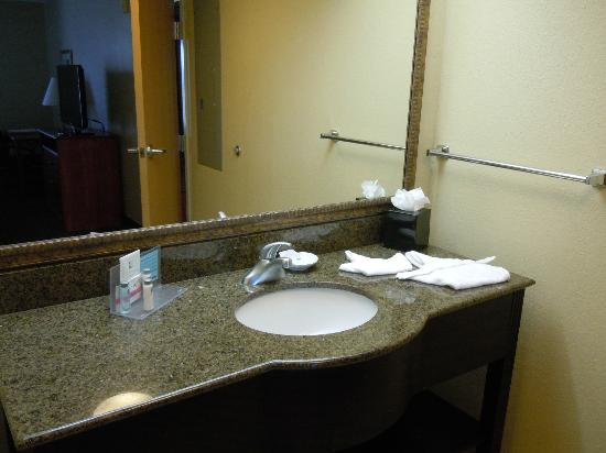Hampton Inn & Suites Fort Myers Beach / Sanibel Gateway: Bathroom