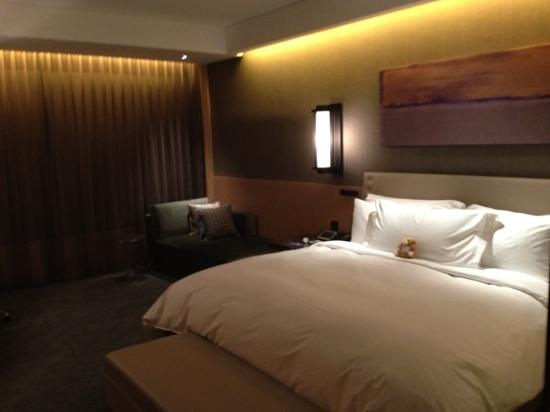 Conrad Seoul: the comfortable bed