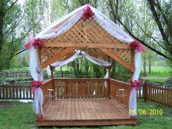 Lewis-Clark Resort: Gazebo