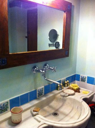 Il Cantico della Natura: il bagno curatissimo