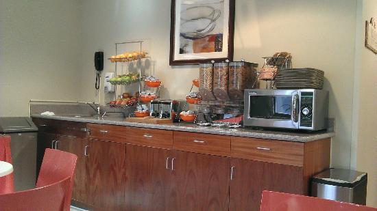 Hotel Le Jolie: breakfast