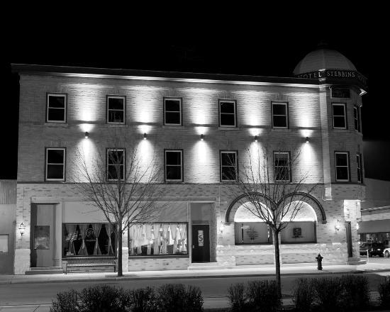 Hotel Stebbins: otel after 2010 renovation/restoration (outside)