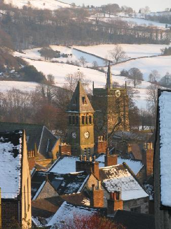 Number 37 Wirksworth: A snowy Wirksworth