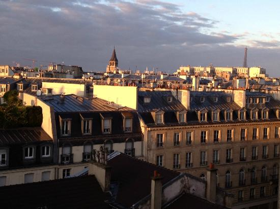 Citadines Saint-Germain-des-Pres Paris: view from our room