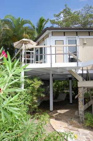 Rosewood Little Dix Bay: Our two level apartment