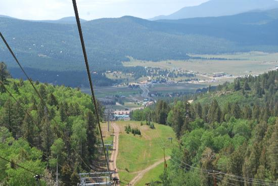 The Lodge at Angel Fire Resort: view from chair lift