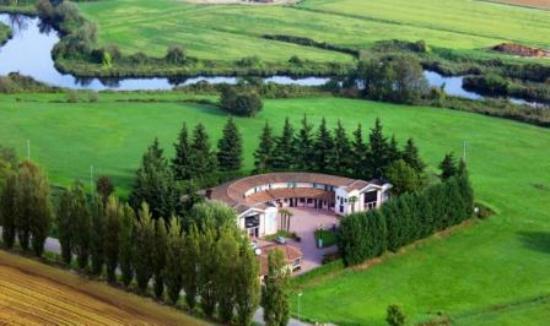 Hotel Moonlight : Foto aerea struttura e verde circostante