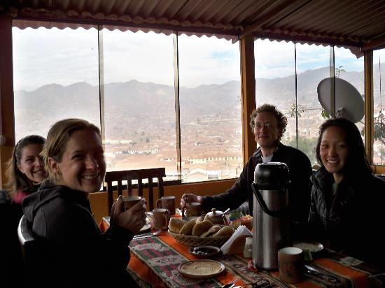 Welcome Cusco Hostel: breakfast