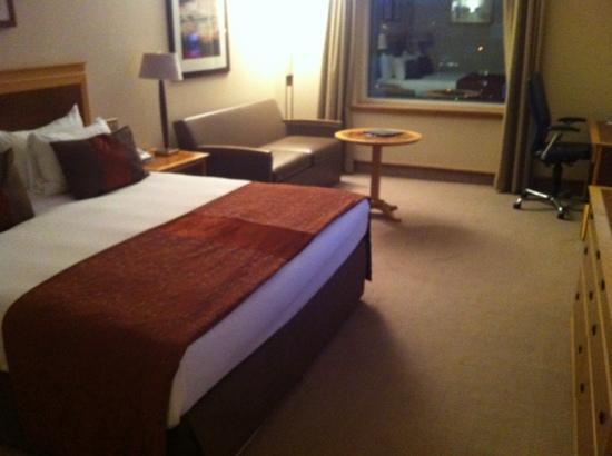 Hilton Glasgow : bedroom