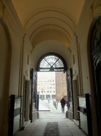 Palazzo Reale: ...nella galleria del Palazzo