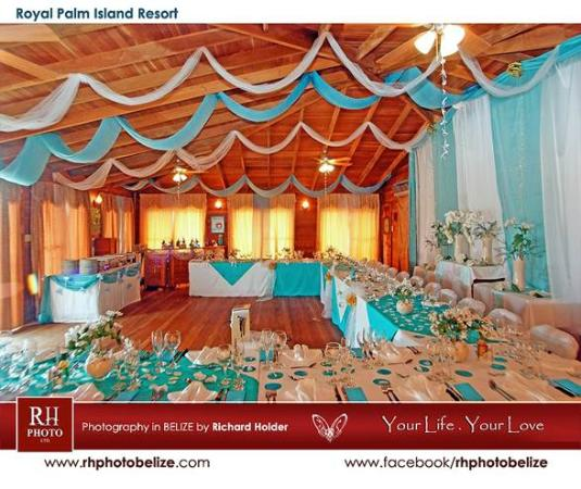 Royal Palm Island Resort: wedding reception