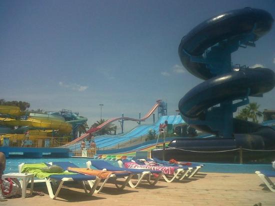 Playa d'en Bossa, Spanien: aquamar water park