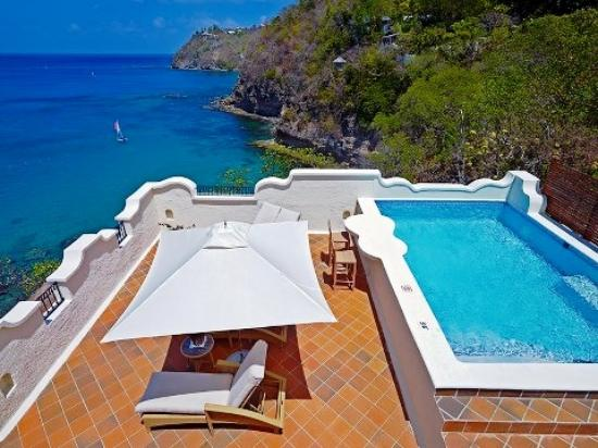 Cap Maison: Private pool is soooo special...