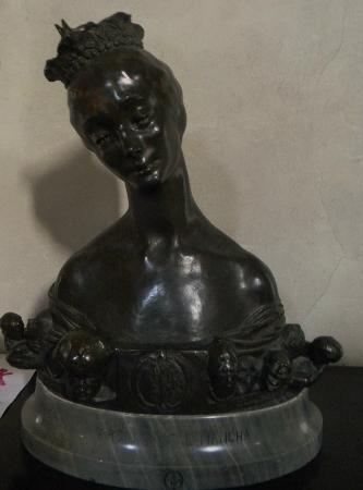 Chateau de la Napoule / Musee Henry-Clews: Sculpture par Henry Clews