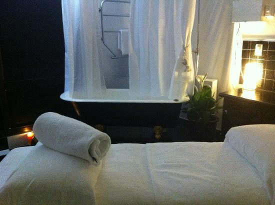 Villaggio Spa: Relax and unwind in our rain shower....