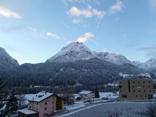 Hotel Bellaval: Aussicht vom Balkon