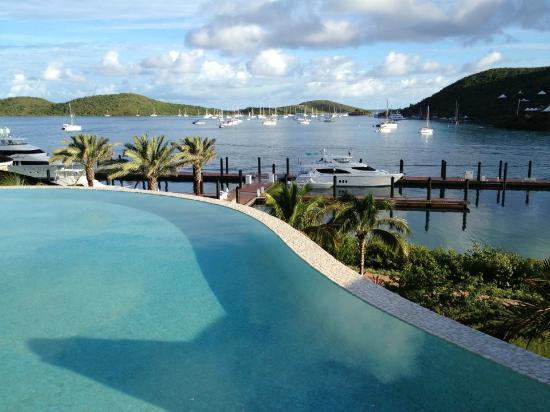 YCCS - Yacht Club Costa Smeralda: View from the pool