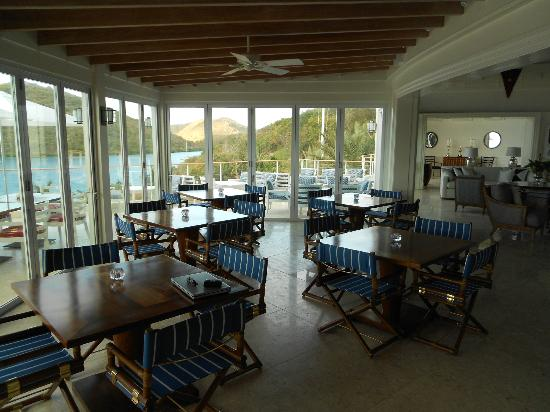 YCCS - Yacht Club Costa Smeralda: Breakfast area
