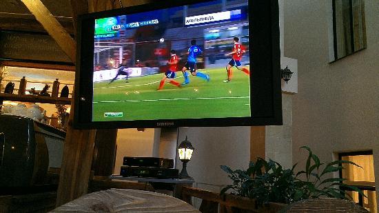Beerstube: football on the tv