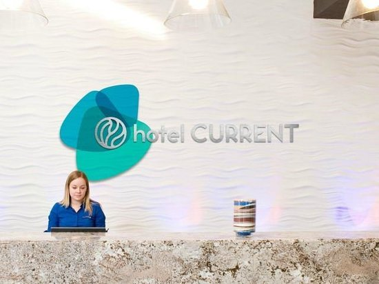 Hotel Current : Lobby Welcome Desk