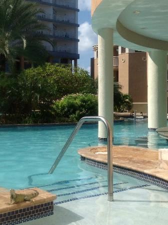Divi Aruba Phoenix Beach Resort: Pool/Bar area