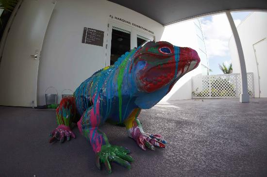 National Gallery of the Cayman Islands: Keeper of the entrance