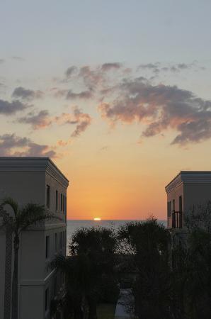 Lands End, Condominium: Sunset von der Anlage aus gesehen