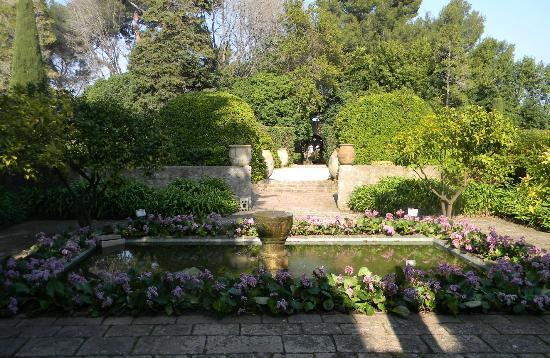 Château de la Napoule / Musée Henry Clews : Le jardin!