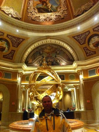 The Venetian Las Vegas: The Lobby area