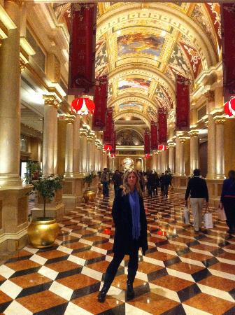 The Venetian Las Vegas: At the hotel's entrance