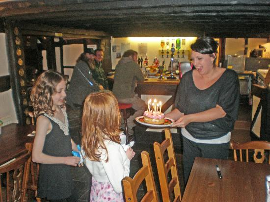 The Moon and Sixpence: birthday in the pub!